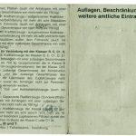 Bundeswehr - Führerschein (Außenseite)