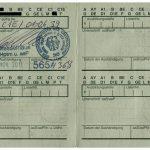 Bundeswehr - Führerschein (Bildseite)