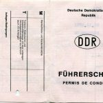 DDR - Führerschein (Außenseite)
