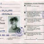 DDR - Führerschein (BIldseite)