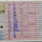 Kartenführerschein 1999 (Rückseite)