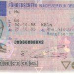 Kartenführerschein 2005 (Bildseite)