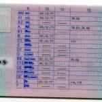 Kartenführerschein 2014 (Rückseite)