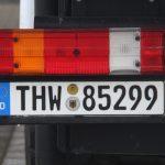 Behördenkennzeichen (hier: Technisches Hilfswerk)