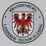 Stempelplakette Brandenburg