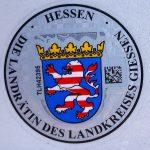 Stempelplakette Hessen