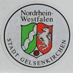 Stempelplakette in der seit 01.07.1995 bundesweit vorgeschriebenen Form