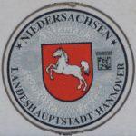 Stempelplakette Niedersachsen