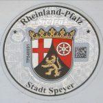 Stempelplakette Rheinland-Pfalz