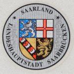 Stemplakette Saarland