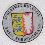 Stempelplakette Schleswig-Holstein