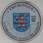 Stempelplakette Thüringen
